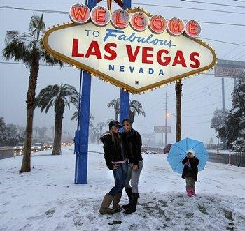 Las Vegas Christmas Weather.Snow In Las Vegas The Weather Man