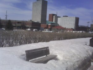 Downtown Moncton March 18, 2009