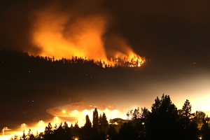 Fires in West Kelowna, BC