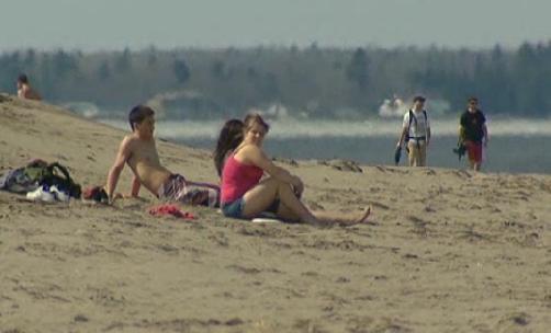 Parlee Beach, NB, 22 March 2012