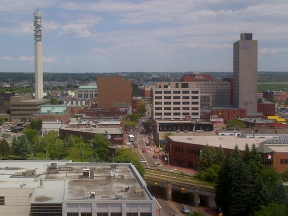 Moncton skyline, 20 June 2013 (Dearing)