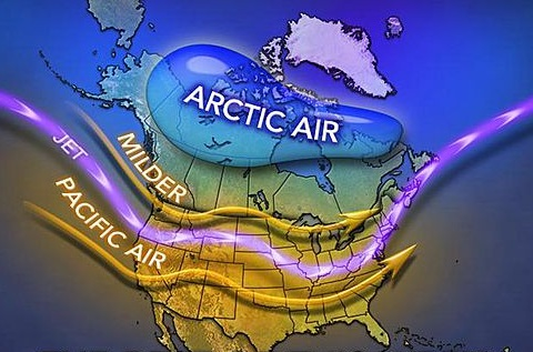 Polar vortex retreats with frigid air now in High Arctic (Accuweather.com)
