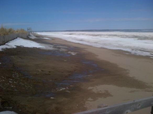 Parlee Beach, NB, 12 April 2014 (Dearing)