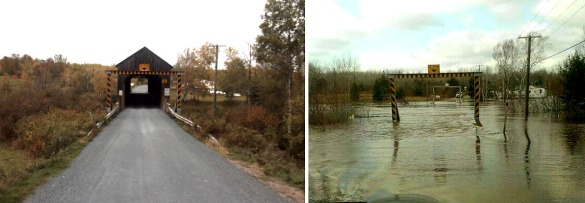 Cherryvale Bridge, before and after (GNB)