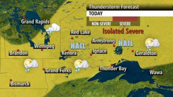Courtesy The Weather Network