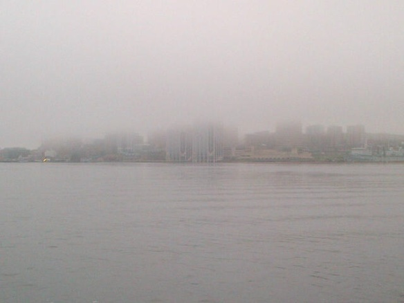 Halifax, NS in fog, 14 June 2014 (Dearing)