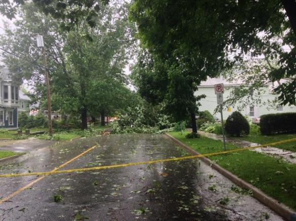 George Street in Fredericton, NB, 05 July 2014 (Twitter)