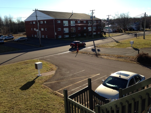 Mild and sunny in Greater Moncton, 27 Dec 2014 (Dearing)