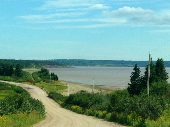 The beach at Dorchester, NB, 11 August 2015 (Dearing)