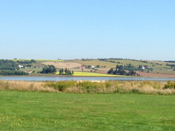 A hillside view from Victoria-by-the-Sea, PEI, 19 July 2015 (Dearing)