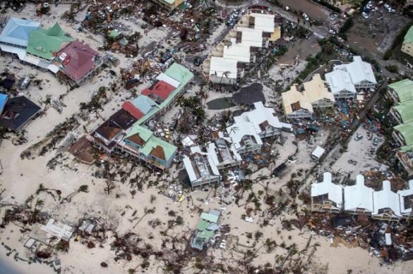 St Martin hurricane