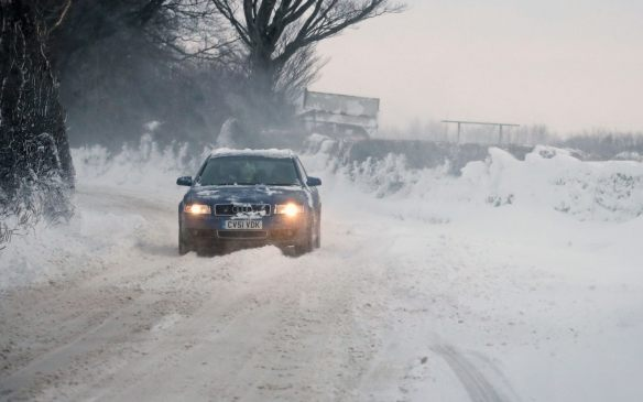 UK snowy